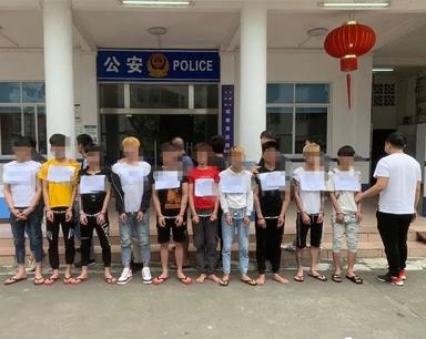 文昌警方打掉一个盗窃黑山羊犯罪团伙,抓11人!