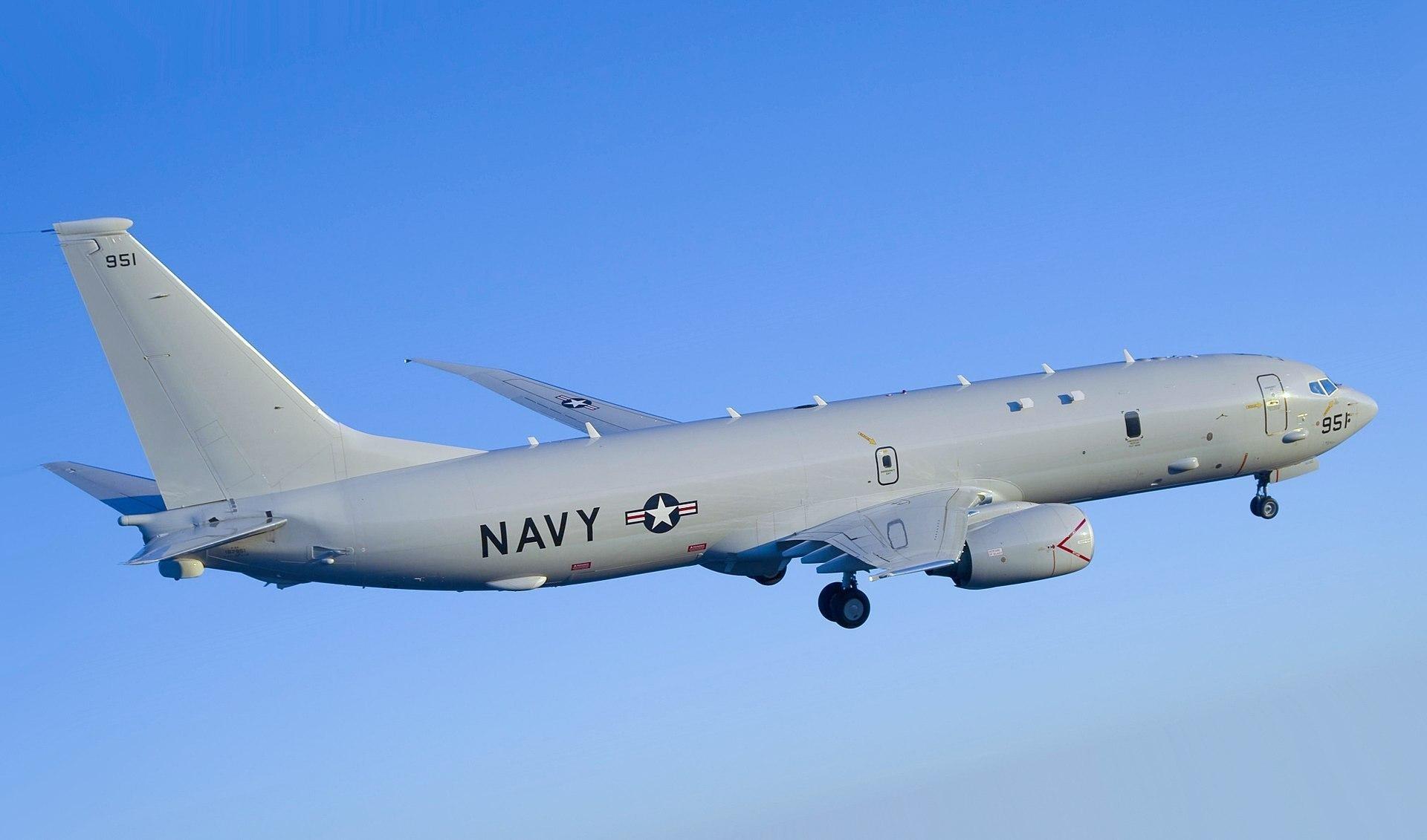 随着P-8A数量的增多,该机已经成为对华航空侦察的主力。