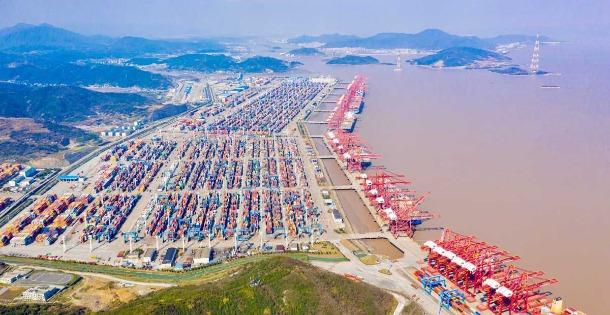 768.9万标准箱!宁波舟山港一季度集装箱量同比增25%