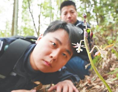 """江西九岭山保护区有一群守护林海的""""青山后浪"""""""
