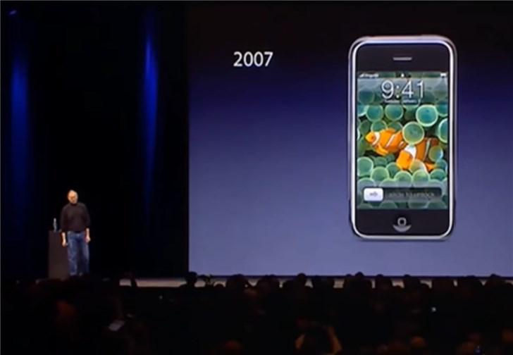 Macworld 2007:乔布斯与初代 iPhone