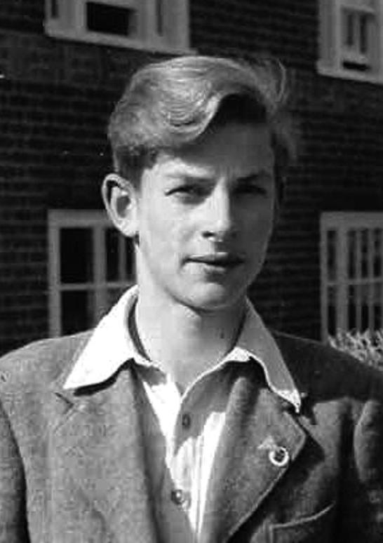 1949年,哈塞尔曼返回德国之前