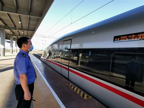 设计时速350公里!张吉怀高铁开始试运行:运营进入倒计时