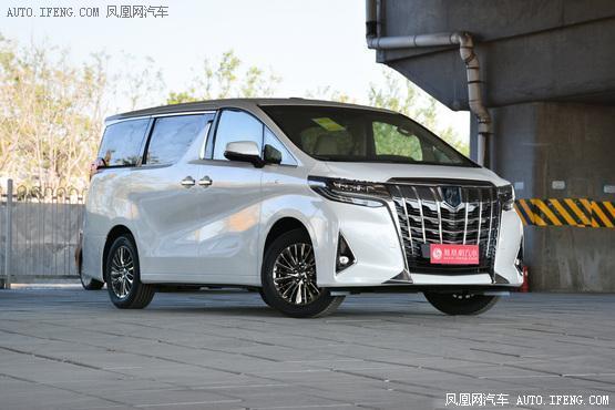2019款 丰田埃尔法 双擎2.5L 豪华版