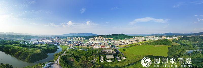 重庆公路物流基地全景