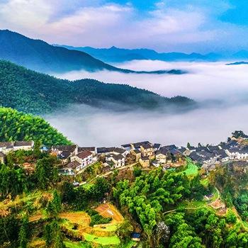 黄山最美的高山村落