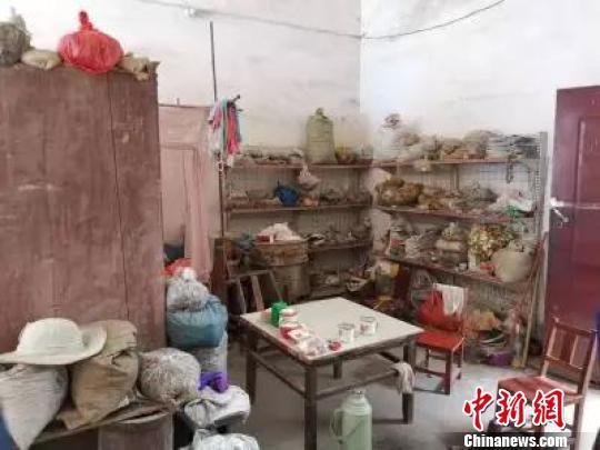 位于河南的吴家诊所。海盐公安提供