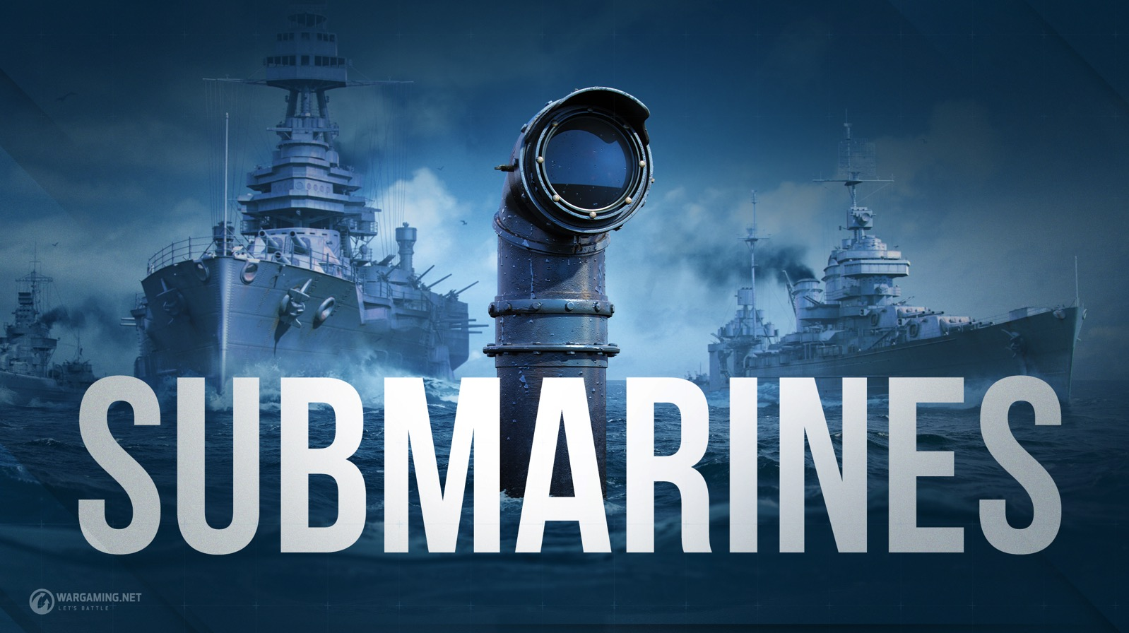 《战舰世界》潜艇操作公开 美德苏三大势力集结