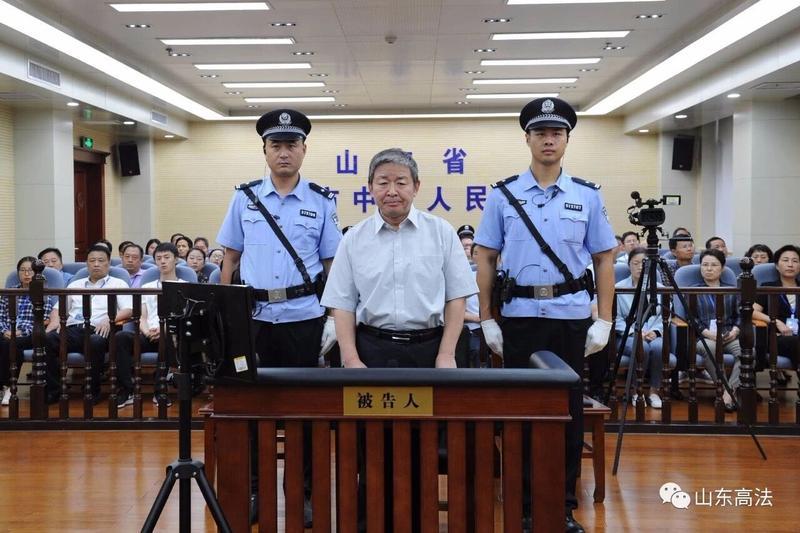 山东滨州中院原院长吴声受贿案一审