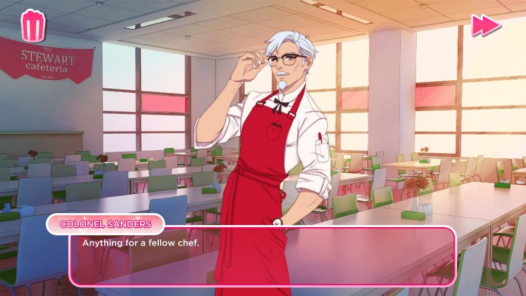 和肯德基大叔谈恋爱 KFC官方游戏登上Steam商店