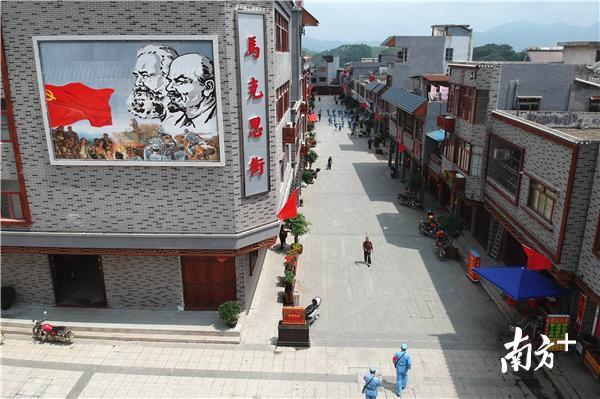 惠东县高潭镇马克思街。