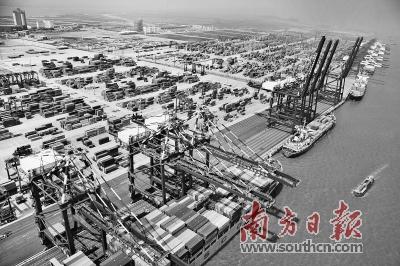 金融活水流入城 广州经济增动能
