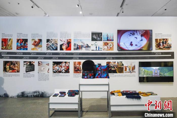 2019中国文化之旅非遗保护创新成果展全面展示非遗保护创新成就。主办方提供