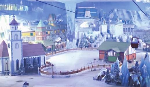 """长沙湘江欢乐城冰雪世界""""下雪""""了明年随时去看雪滑冰"""
