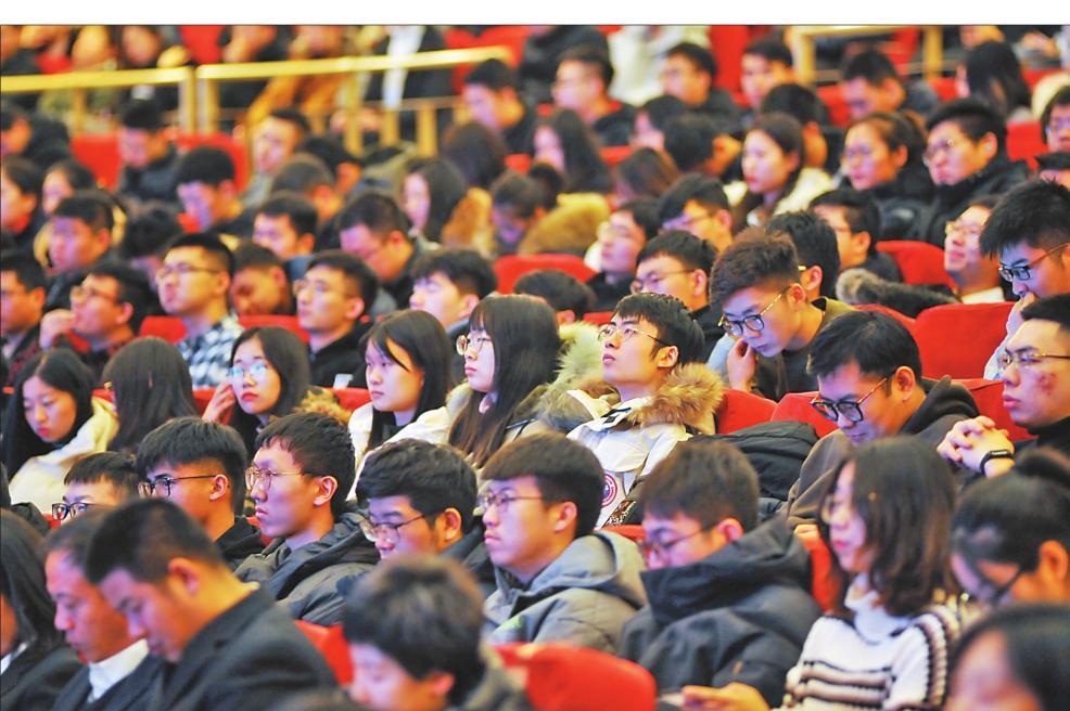 尽展城市魅力 释放留才诚意 哈尔滨市长进校园宣讲活动侧记