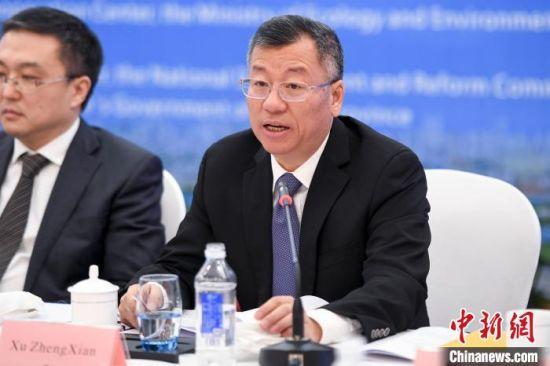 湖南省人民政府外事办公室主任徐正宪致辞。 杨华峰摄