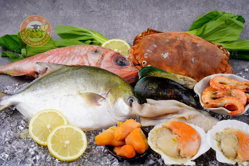 海产品实物图展示