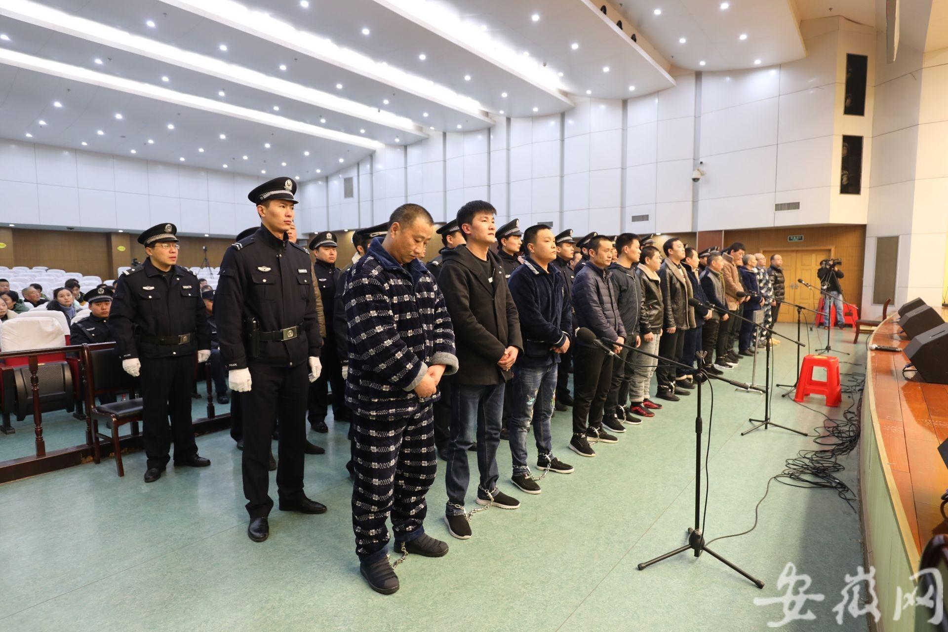 """淮南:盗墓团伙盗武王墩墓后""""黑吃黑"""" 28人受审"""