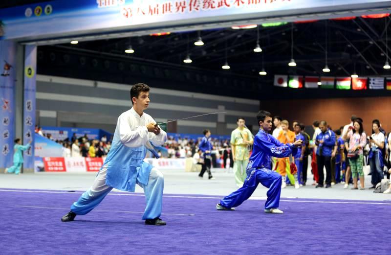 ?第八屆世界傳統武術錦標賽在峨眉山舉行