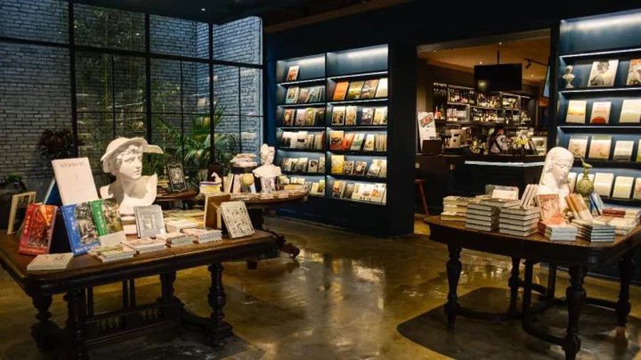 福州鹿森书店上下杭店。二子图。