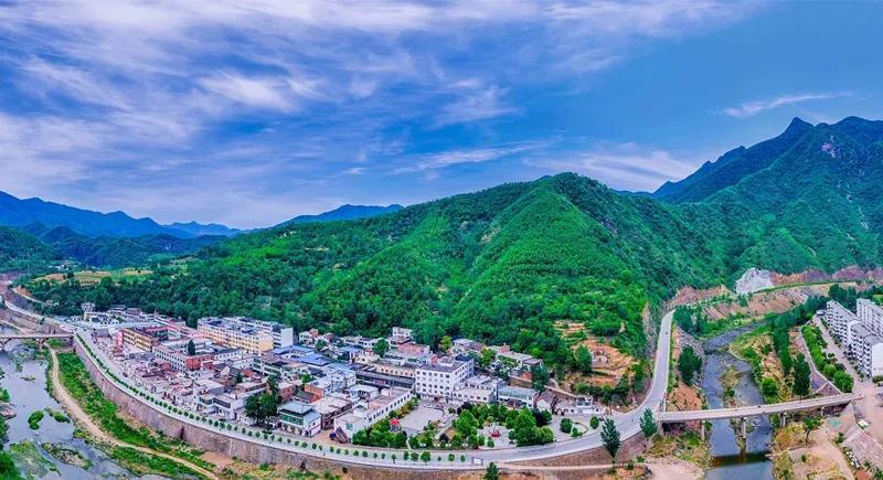 花香、山水、古村落 嵩县的春天美出了新境界
