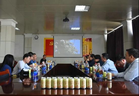 河南省餐饮与饭店行业协会召开金星啤酒专题座谈会