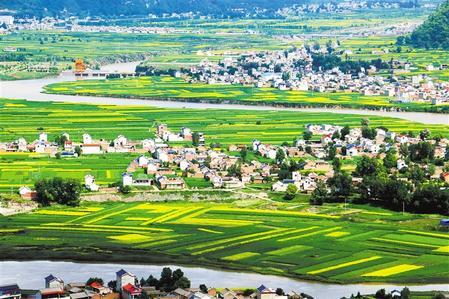 岷县洮河沿岸风景美如画 马万安
