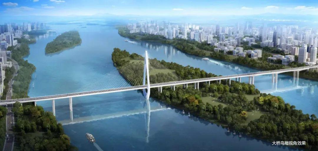 惊艳!yabo体育将再增一座过江大桥 效果图曝光