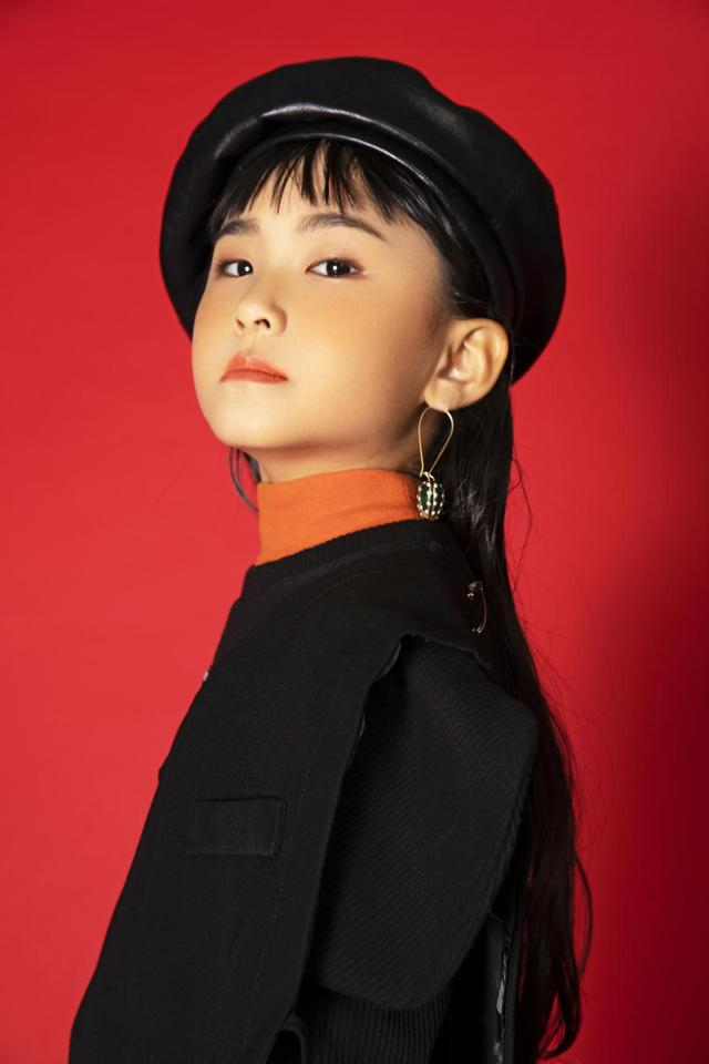 2020精英童模超级联赛少儿模特大赛全球官方发言人黄姚婉尔