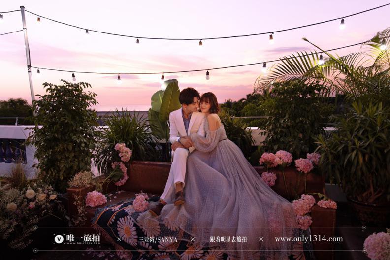 【唯一婚纱店旗下有几个分店】清新浪漫婚纱照首选唯一旅拍