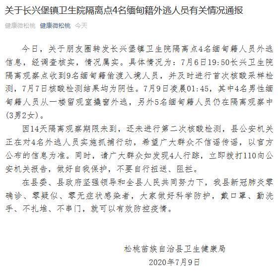 【刷百度关键词排名】_贵州一隔离点4名缅甸籍偷渡入境人员外逃 警方正抓捕
