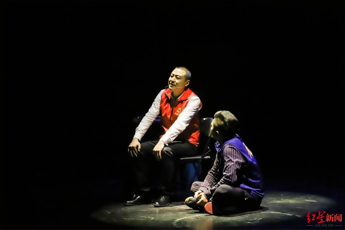 原创话剧《化身微光》, 金牛区将退役军人参与社会治理的故事搬上舞台
