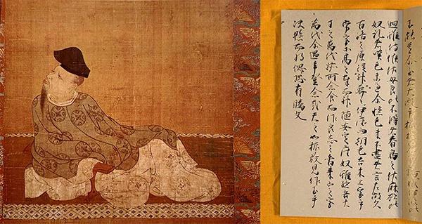 柿本人麻吕(约660-约720)日本飞鸟时代的诗人。被称为日本歌圣。所创作的和歌(和歌即吴歌的谐音),均收录在日本最早的诗歌集《万叶集》里。