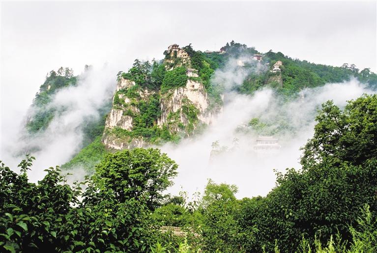 崆峒秀色 景区供图