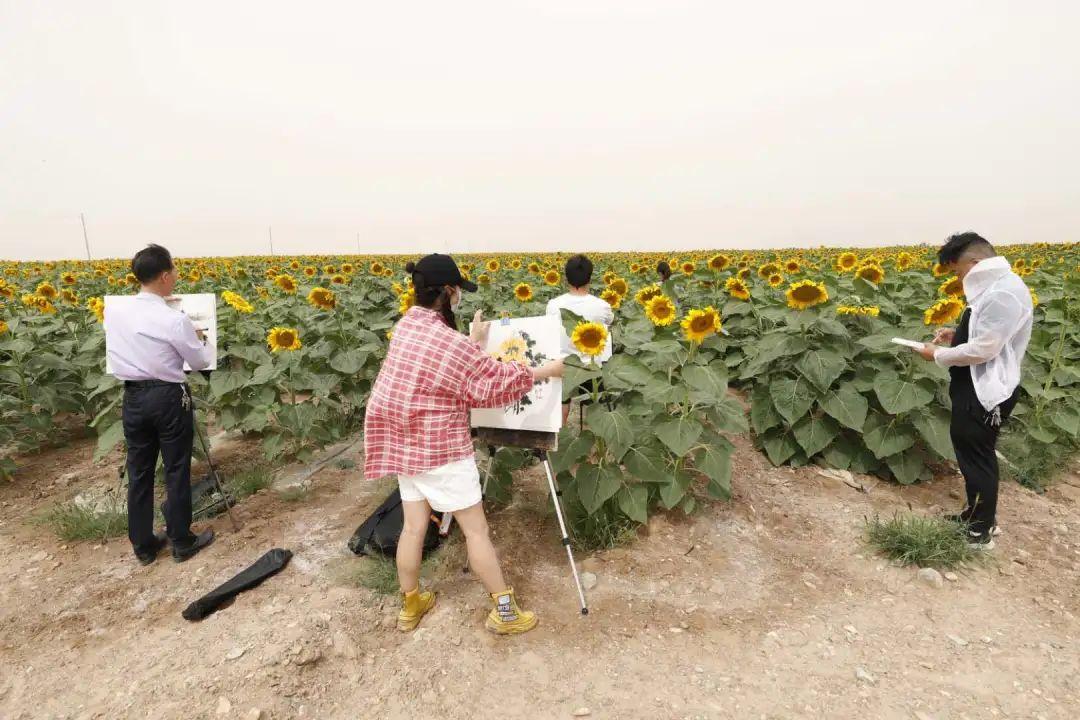 金川画家邀您打卡金葵生态农旅产业园