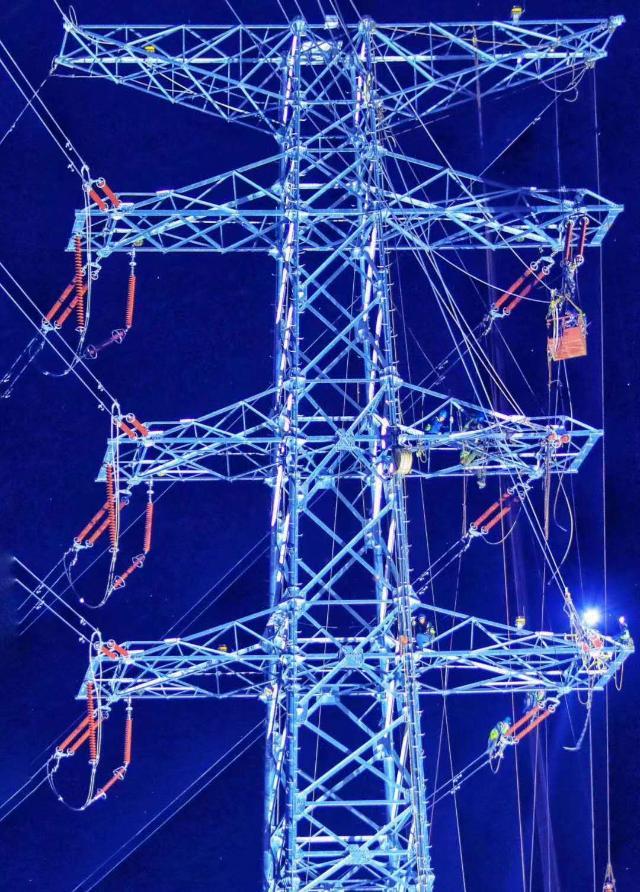 海南东北电网结构再优化江东新区新增动