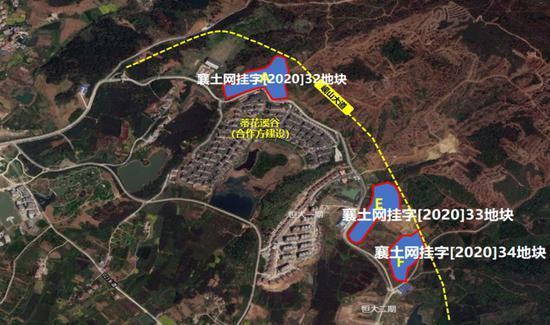 资料图:浙江世茂拿下湖北襄阳3幅地块。浙江世茂供图