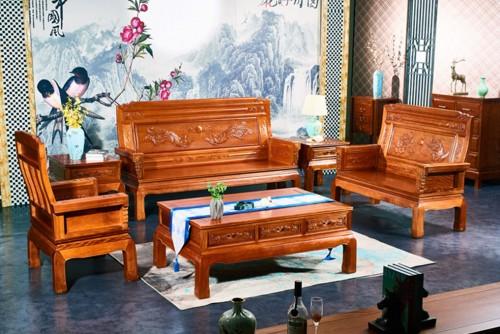 传承中国古典家具与武术原木森家居家具