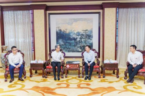 四川大学与安琪儿医疗控股集团达成战略合作1.1亿助力川大教育发展