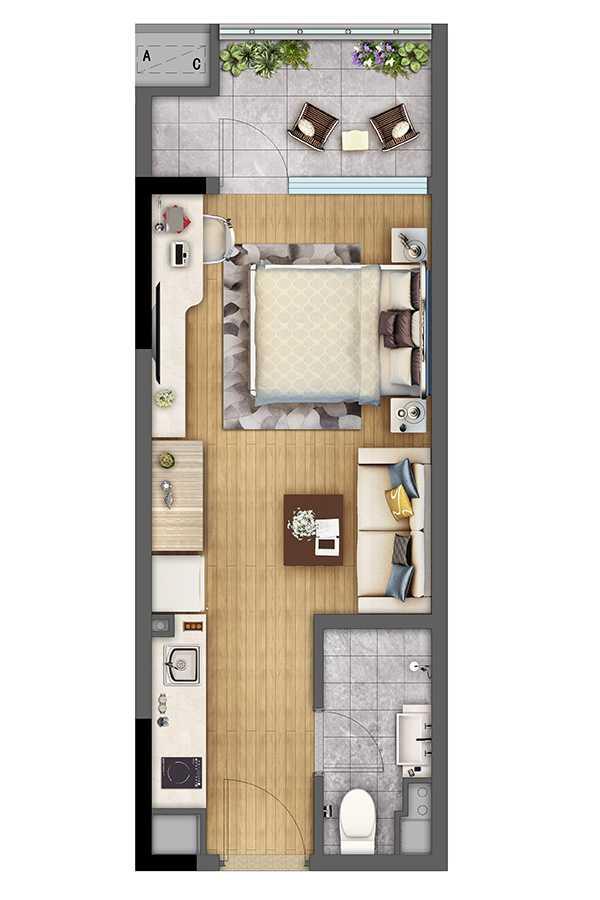 SOHO公寓