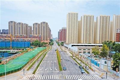 广运潭西路(玄武东路-矿山路)预计本月底通车。 矿山路口到玄武东路口