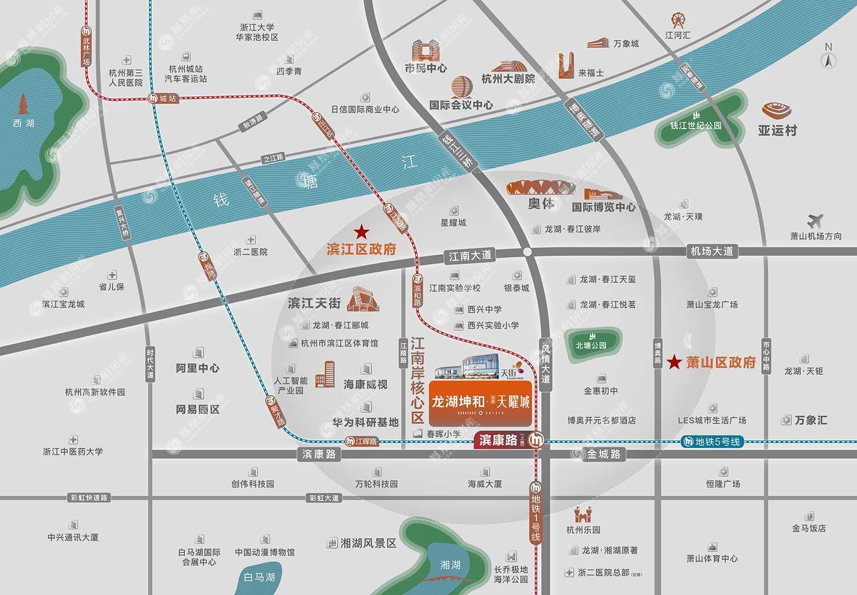 滨康天曜城规划图2