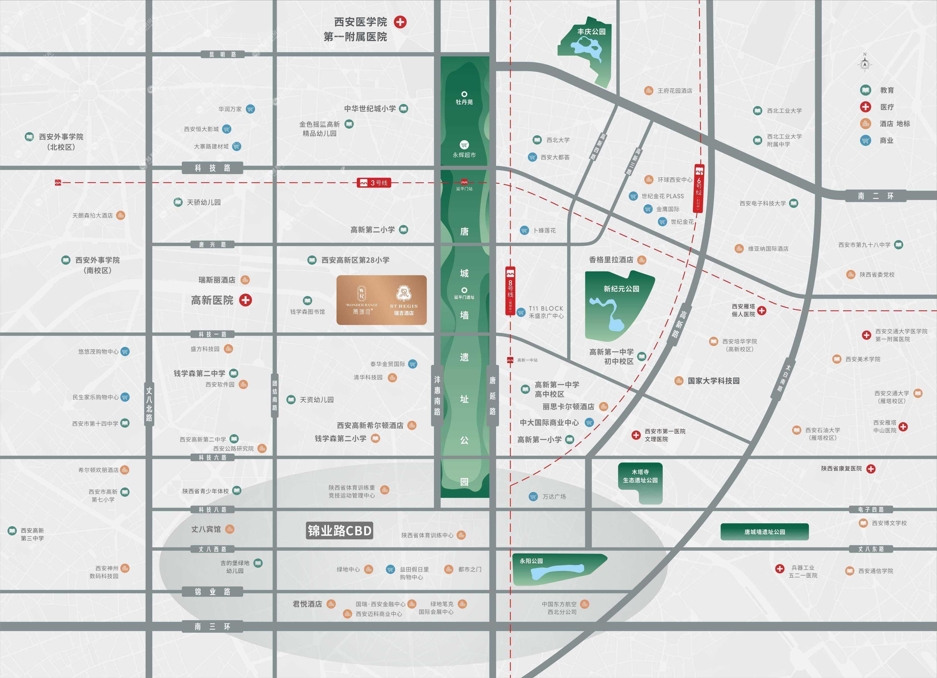 万瑞府规划图2