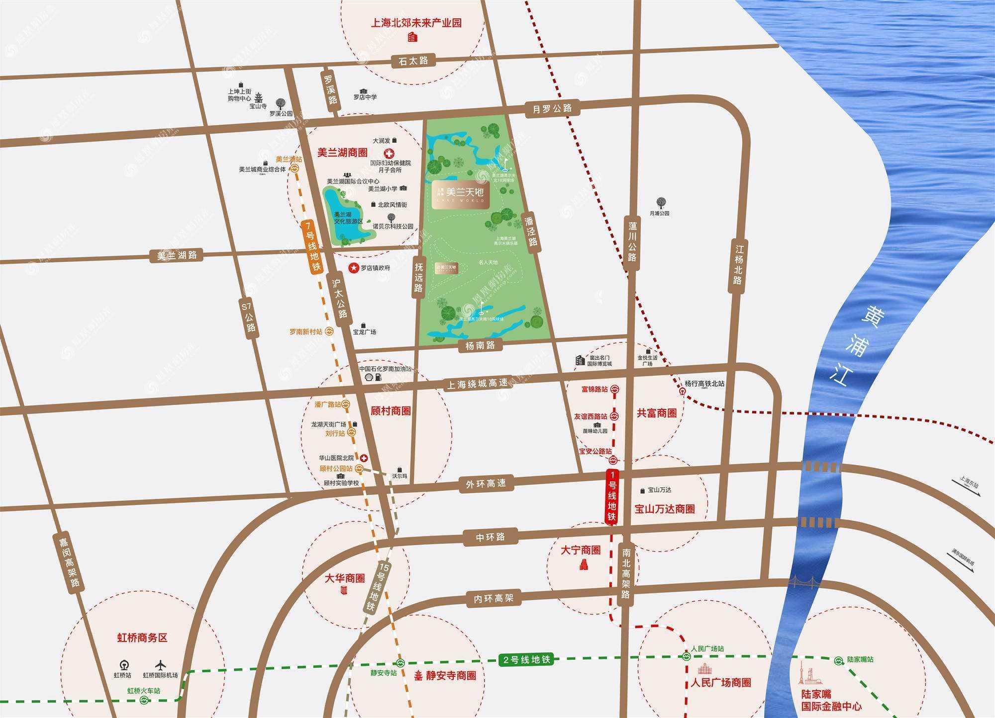 美兰天地规划图2