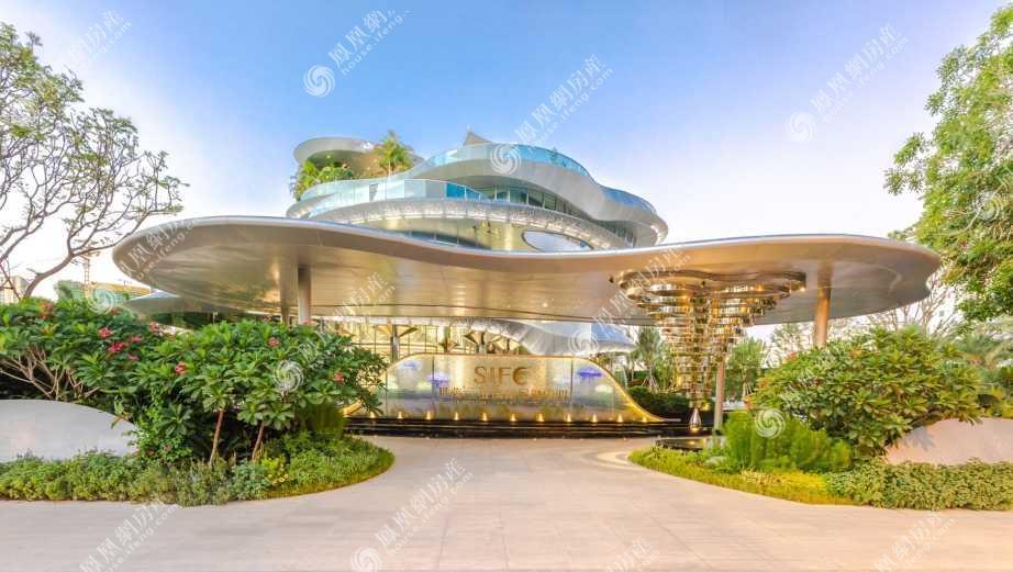 世茂三亚国际金融中心实景图3