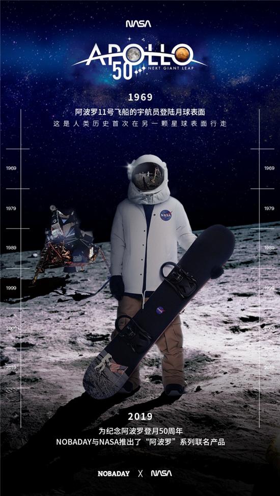 带你上宇宙 NOBADAY携手NASA联名发布多款潮装