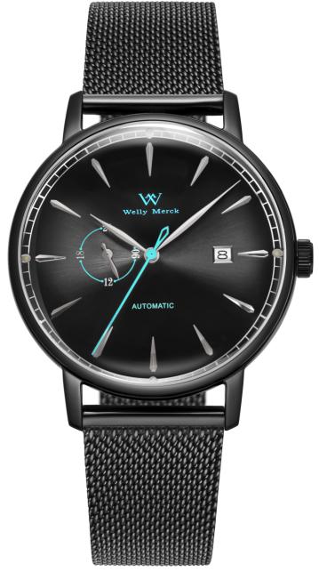 WellyMerck魅影系列腕表将于9月10日上市,开启潮流时尚新篇章