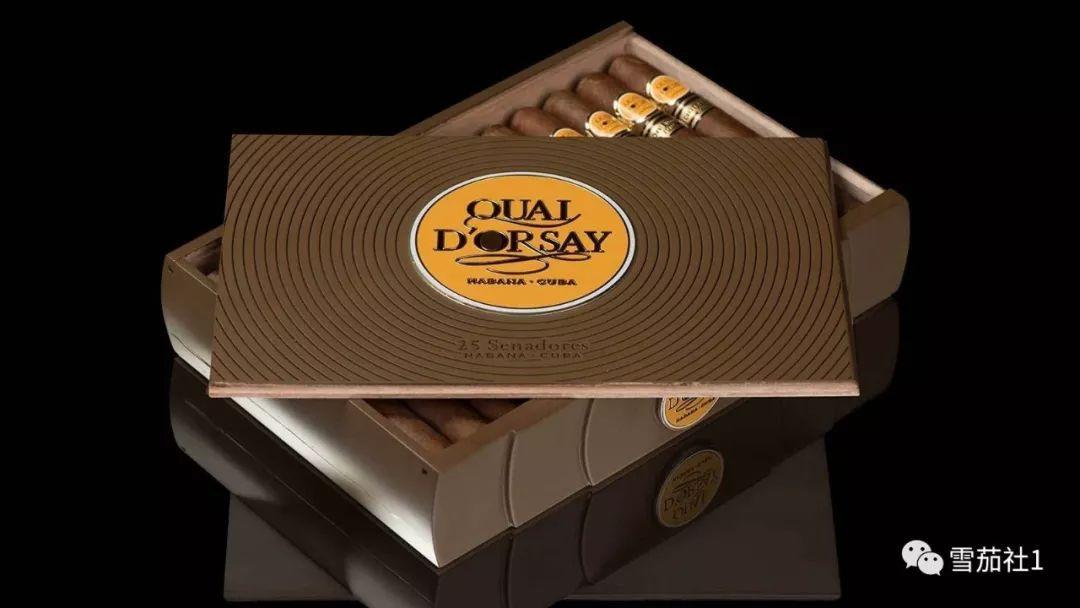 多尔塞参议员限量雪茄乘着游艇出场 第二款年度限量版9月法国出炉