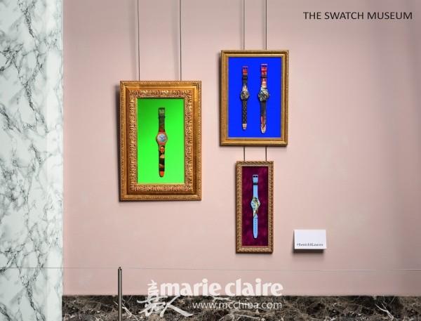 下一站巴黎——斯沃琪携手卢浮宫博物馆推出全新系列腕表