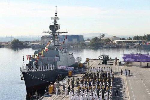 伊朗下水最新驱逐舰,拥有中国血统反舰导弹,能否与美军一战?